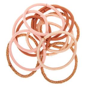 Élastiques de couleur nude - Lot de 12,