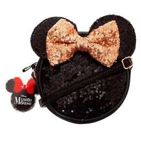 Disney© Minnie Mouse Crossbody Bag - Black,