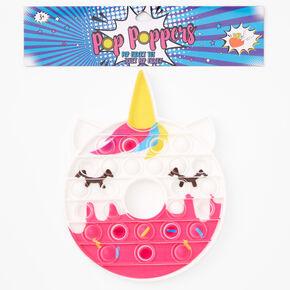 Pop Poppers Unicorn Donut Fidget Toy - Pink,