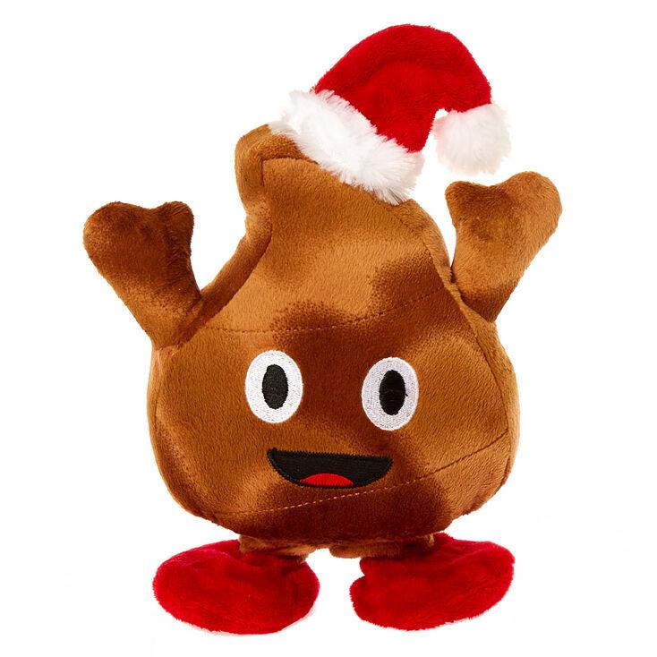 dancing santa poop toy