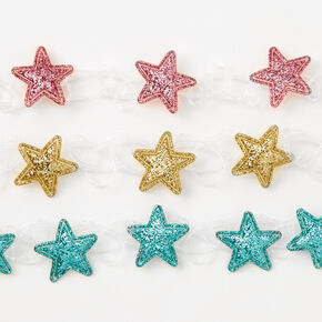 Glitter Stars Tattoo Choker Necklaces - 3 Pack,