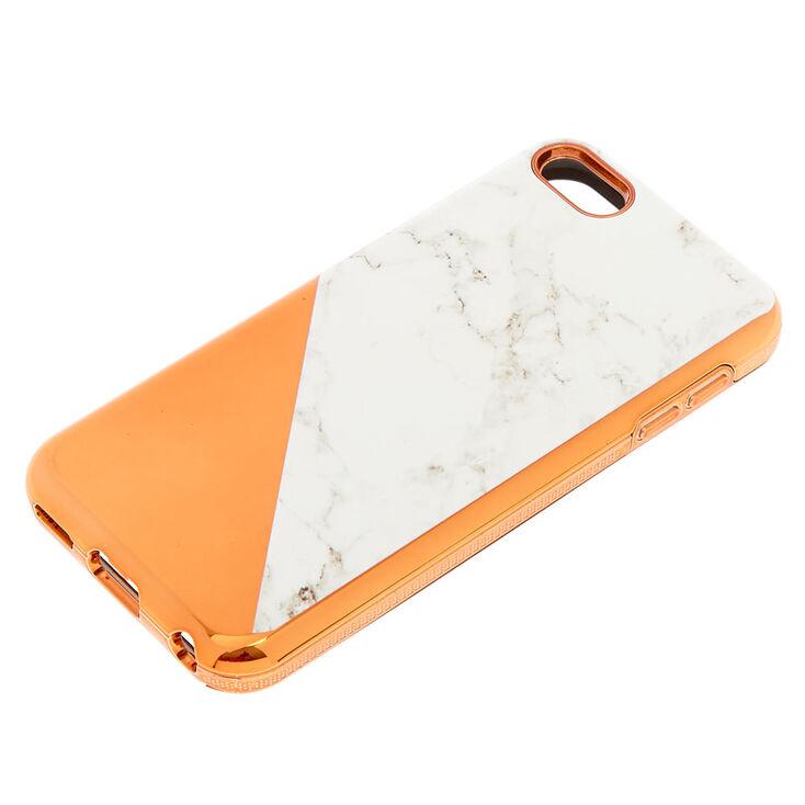 Coque de protection pour iPod® Touch couleur doré rose et couleur marbré,