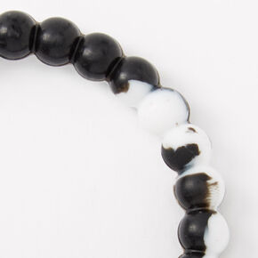 Courage Fortune Stretch Bracelet - Black,