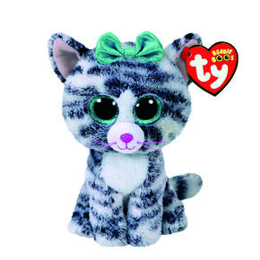 Ty Beanie Boo Small Quinn the Cat Soft Toy 5e2ce9c0810