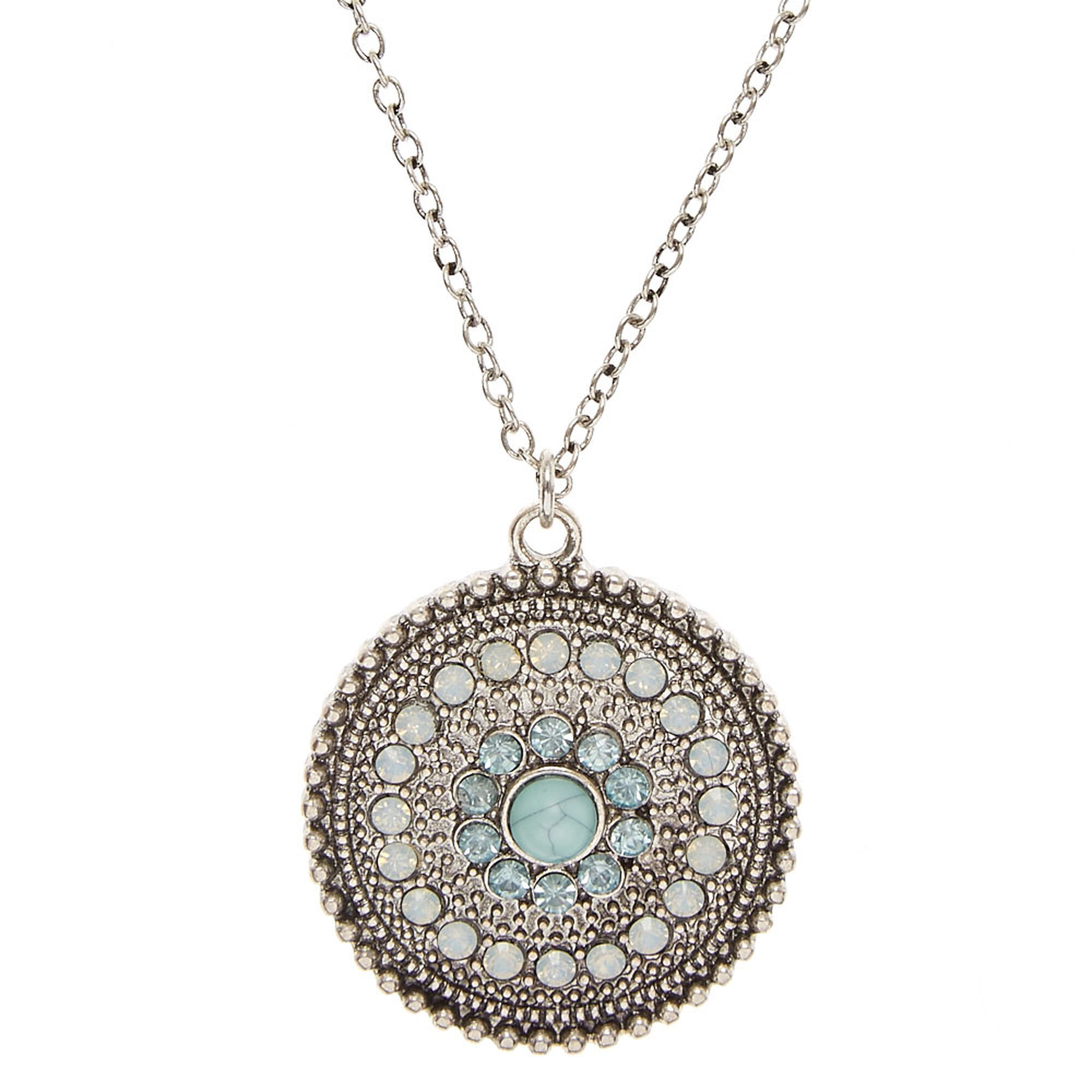 blissfully image medallion jewelry liss necklace products cross pendant