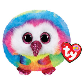 Ty Puffies Owen the Owl Plush Toy,
