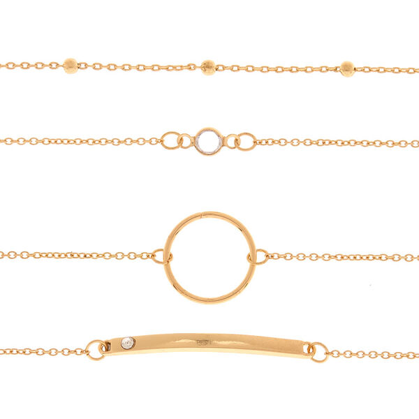 Claire's - chain choker necklace - 2