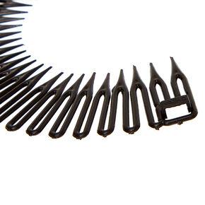 Accordion Headbands - Black, 2 Pack,