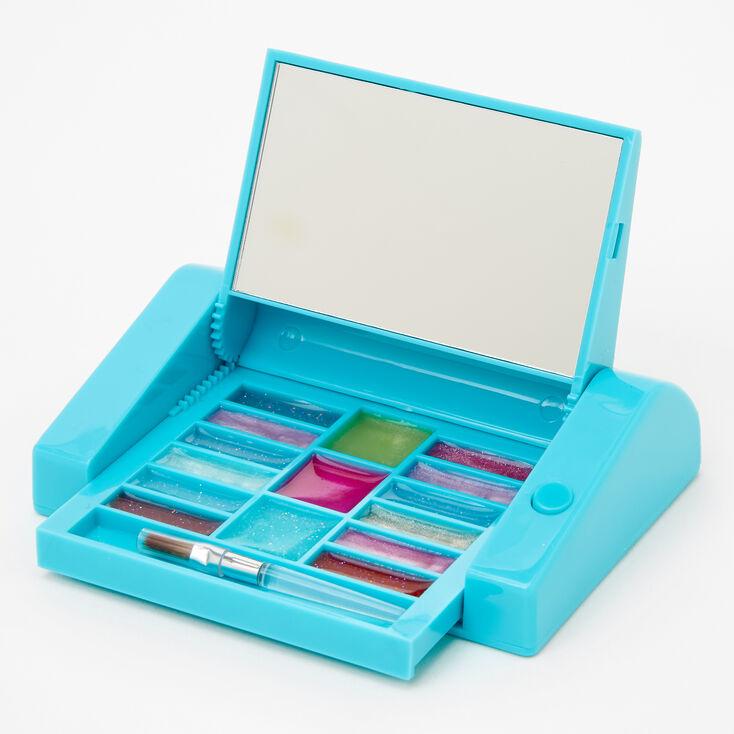 Bubble Tea Fruit Bling Mechanical Lip Gloss Set - Blue,