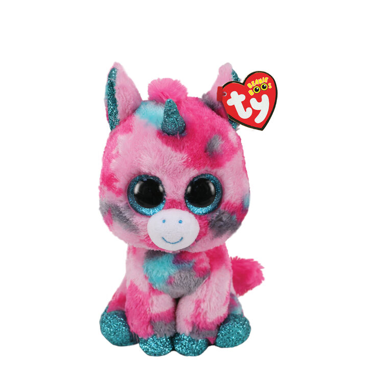 Ty Beanie Boo Small Gumball the Unicorn Soft Toy,