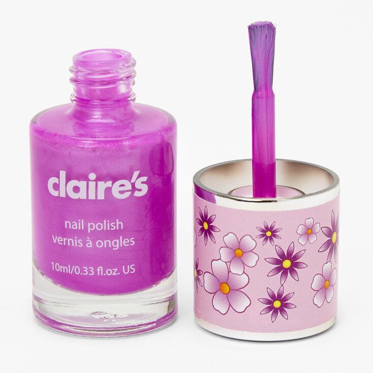 Scented Nail Polish - Purple,