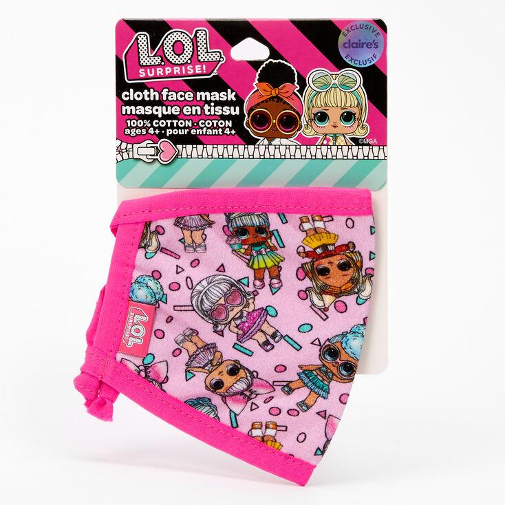 L.O.L. Surprise!™ Doll Print Face Mask – Adjustable,