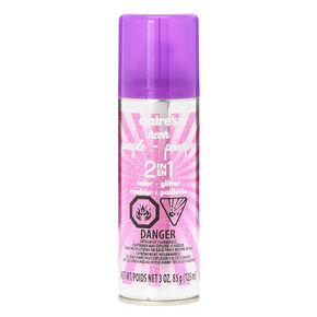 Neon Glitter 2 in 1 Temporary Hair Color - Purple,