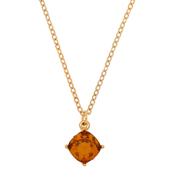 Claire's - november birthstone pendant necklace - 1