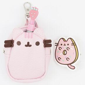 Porte-clés mini sac à dos à sequins Pusheen® - Rose,