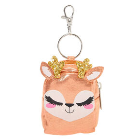 Go to Product: Ginger the Deer Mini Backpack Keychain - Pink from Claires