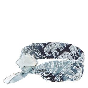 Paisley Elephant Bandana Headwrap,