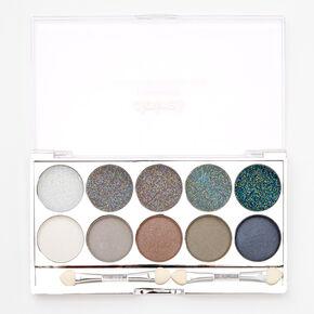 Smokey Glitz Glitter & Shimmer Eyeshadow Palette,