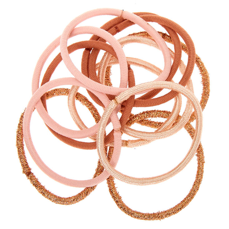 Blush Nude Luxe Hair Bobbles - 12 Pack,