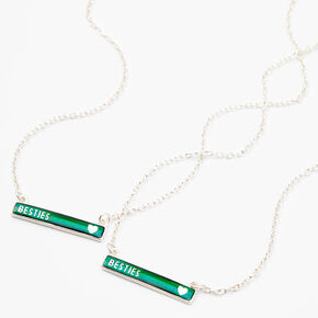 Best Friends Mood Pendant Necklaces - 2 Pack,