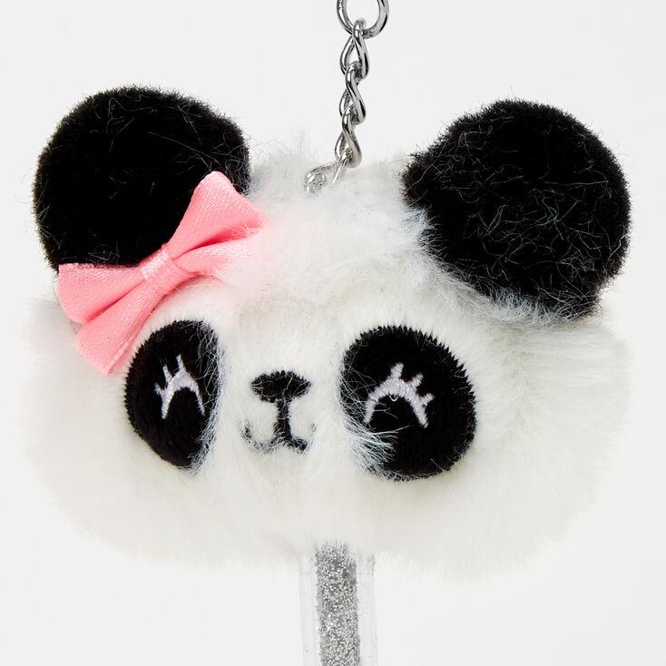 Panda Mini Keychain Pen - White,
