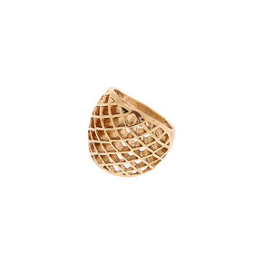 Go to Product: Gold Honeycomb Ring from Claires