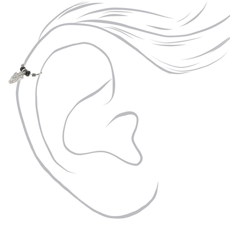 Boucle d'oreille flèche pour faux piercing cartilage,