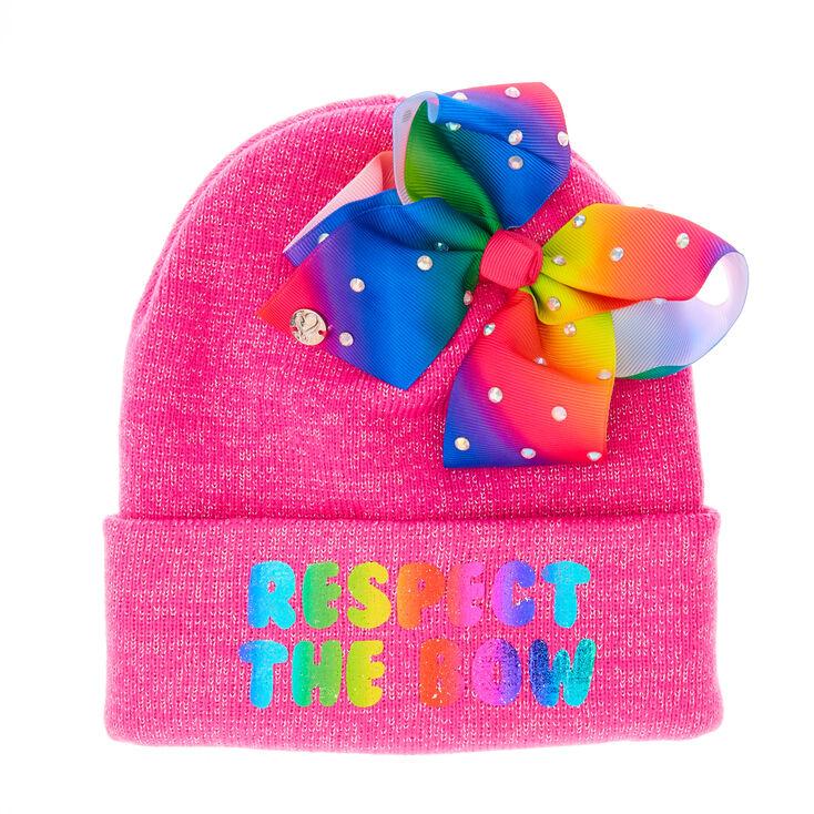 JoJo Siwa Pink  quot Respect The Bow quot  Hat dabc046e5f3