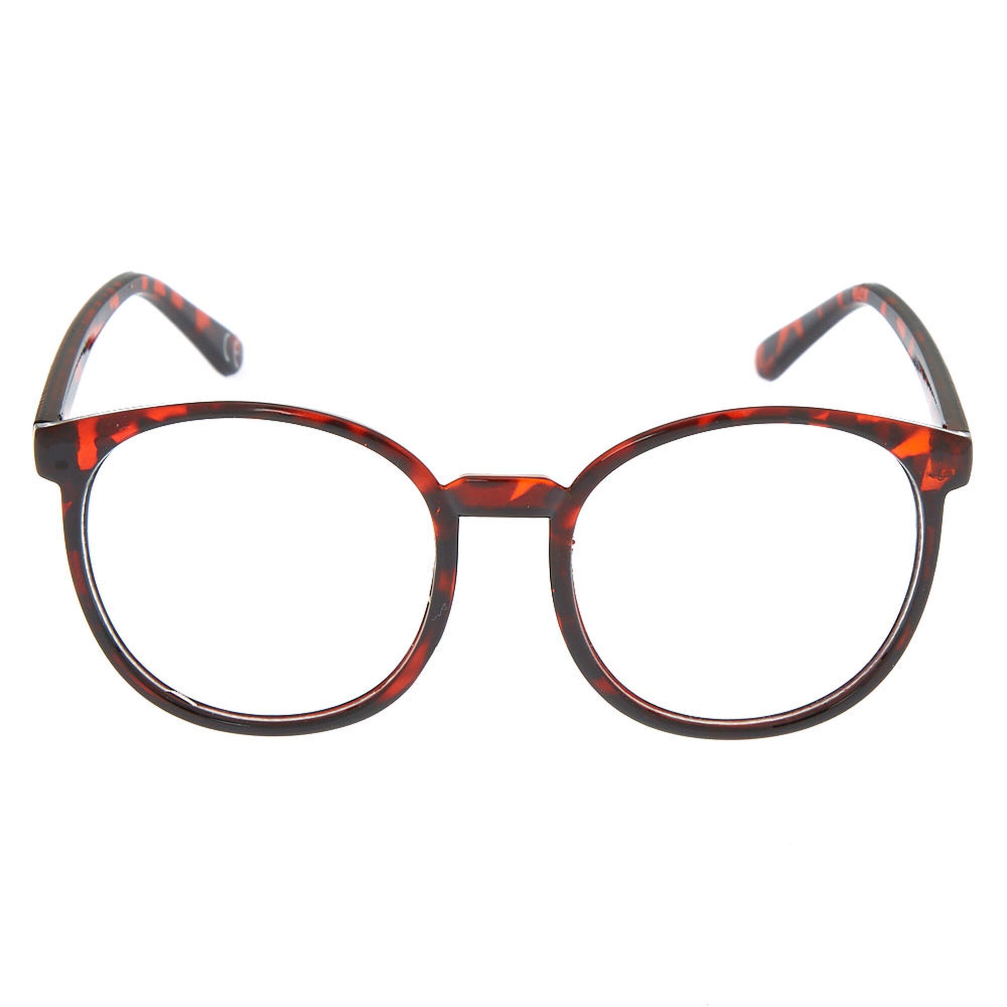 2bf947d997 ... Monture de lunettes ronde oversize à motif écaille ...