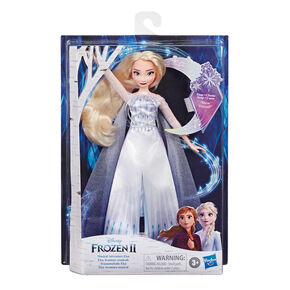 ©Disney Frozen 2 Musical Adventure Elsa Singing Doll – Blue,