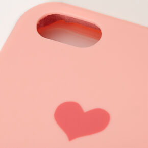 Pink Heart Phone Case - Fits iPhone 5/5S,
