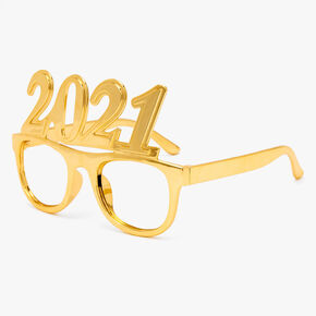 Gold 2021 New Years Eve Frames,
