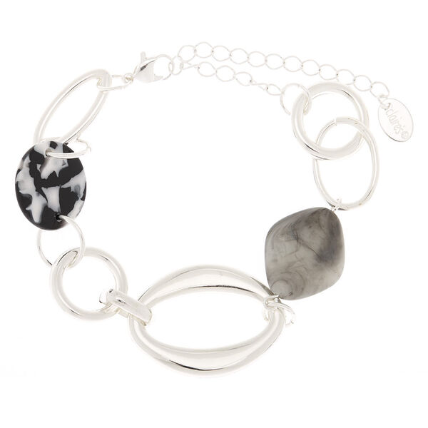 Claire's - resin stone chain bracelet - 1