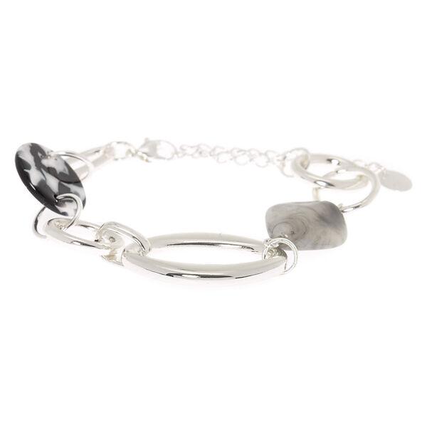 Claire's - resin stone chain bracelet - 2