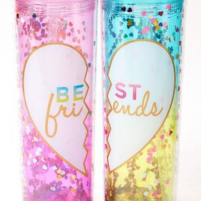 Best Friends Shaker Glitter Tumbler Set - 2 Pack,