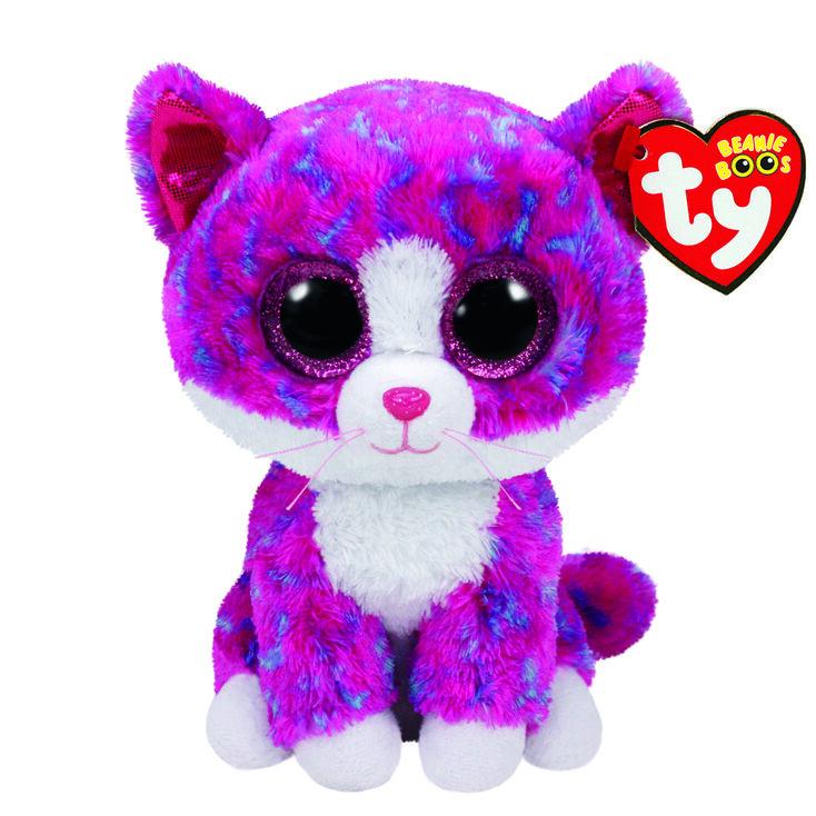 8b5a7de27dd Ty Beanie Boo Medium Charlotte The Cat Plush Toy