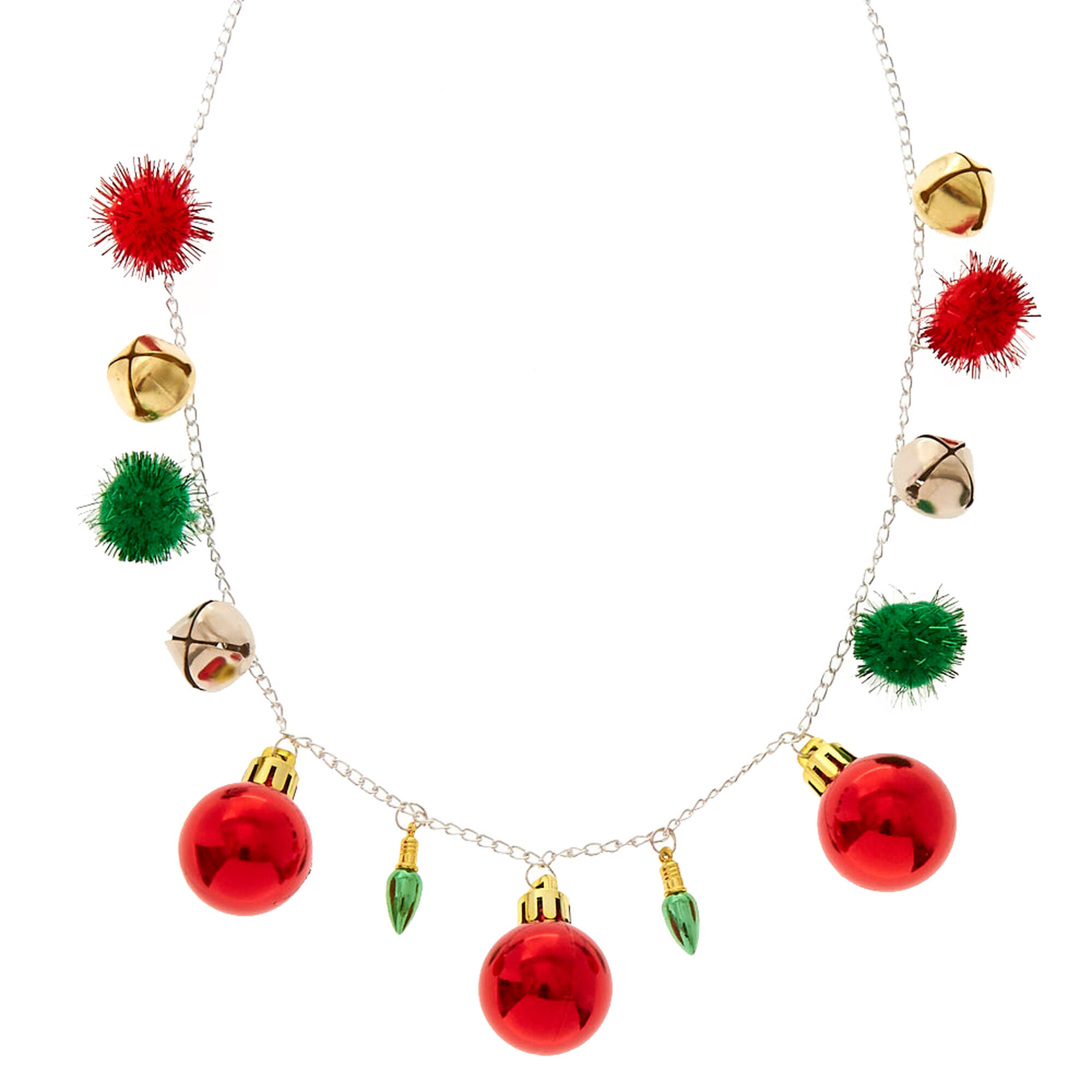 Crazy christmas necklace claires crazy christmas necklace aloadofball Image collections