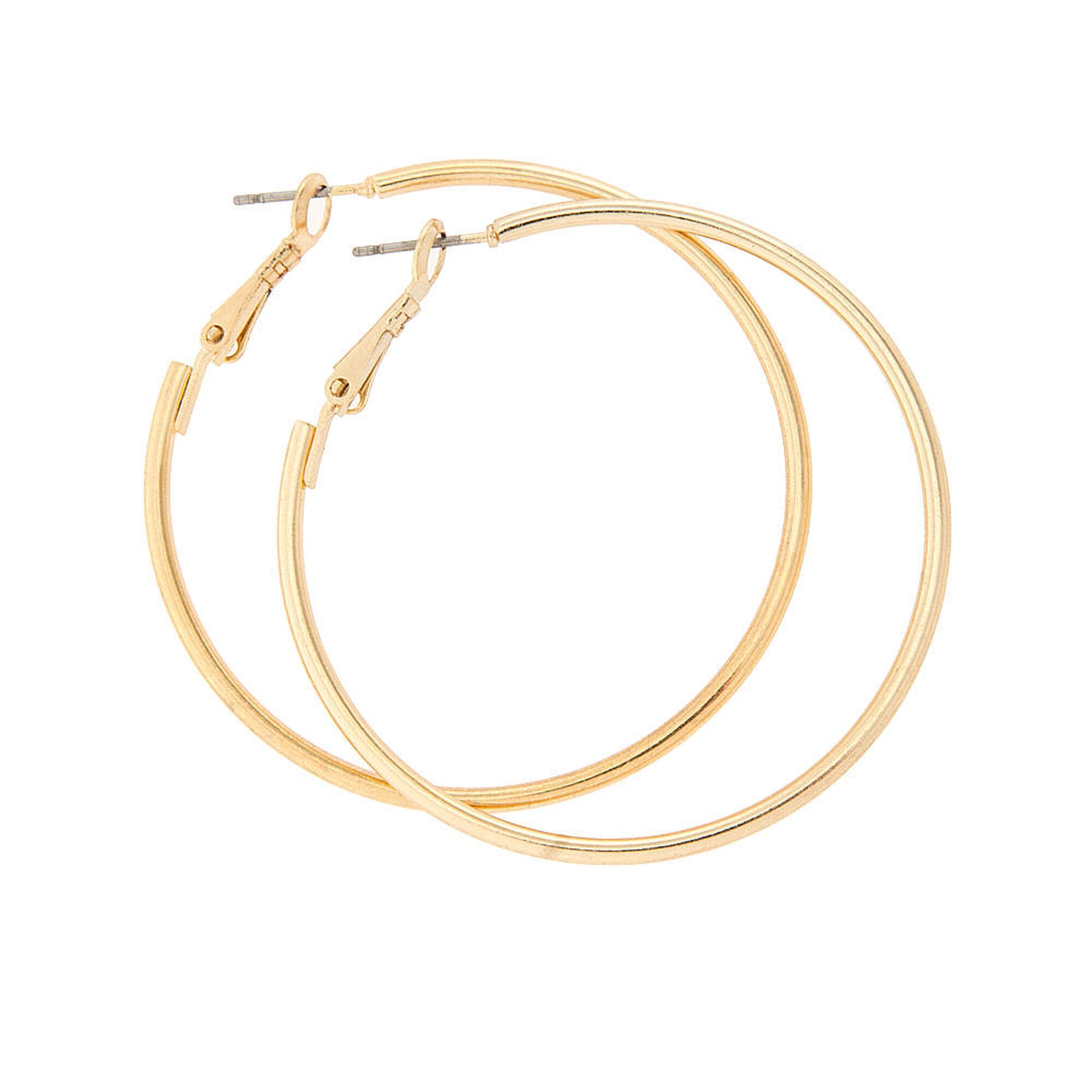 50mm gold hoop earrings s us