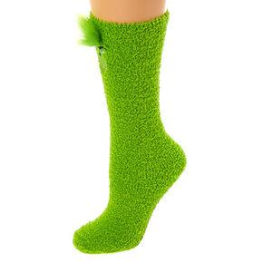 The Grinch Cozy Knee High Socks - Green,