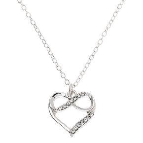 Collier à pendentif «Forever In Love» couleur argenté,