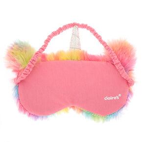 6b18d0aab Furry Rainbow Unicorn Sleeping Mask