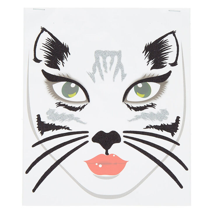 Cat Face Stickers,