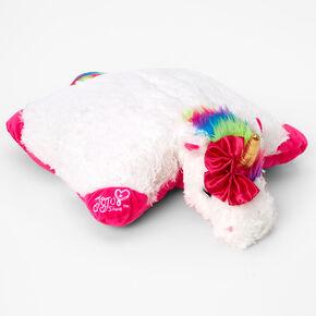 Pillow Pets® JoJo Siwa™ Rainbow Unicorn Plush Toy - White,