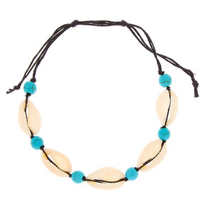 Puca Shell Anklet - Turquoise,