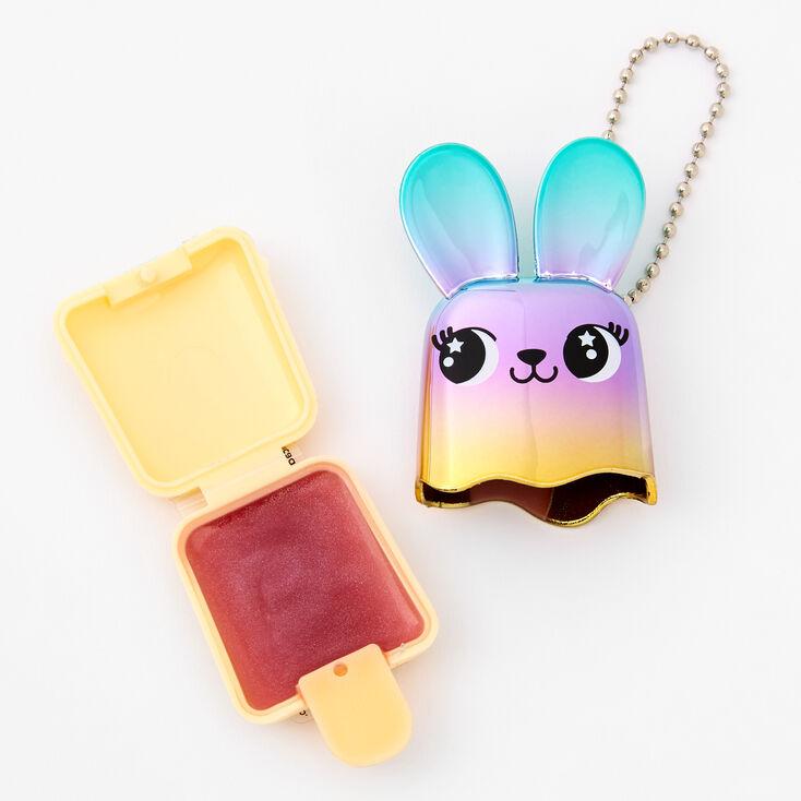 Pucker Pops Rainbow Metallic Bunny Lip Gloss - Cotton Candy,
