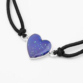 Heart Mood Bracelet - Black,