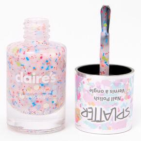 Splatter Nail Polish - Rainbow Confetti,