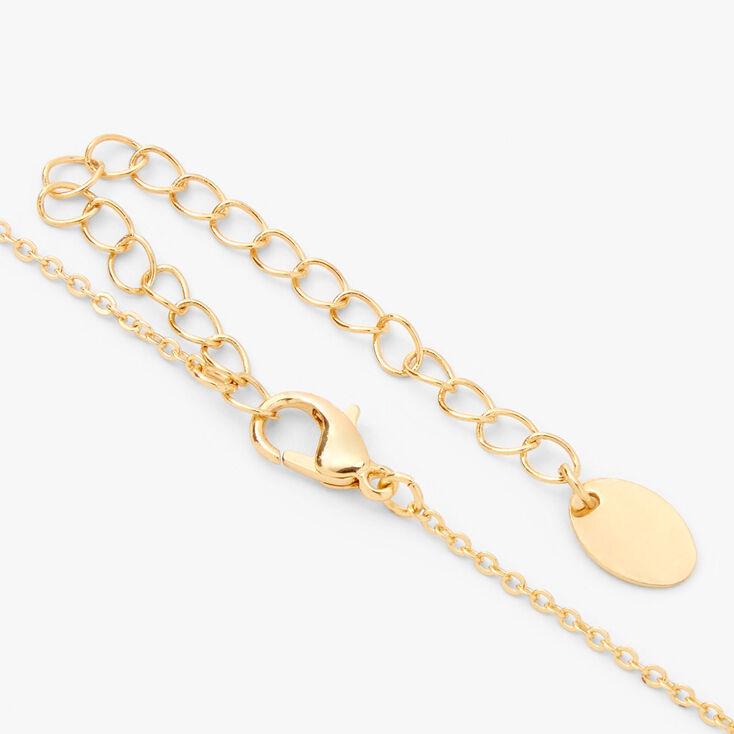 Gold Love Key Jewelry Set - 2 Pack,