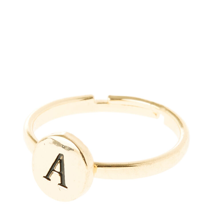 A Initial Letter Ring | Claire's US