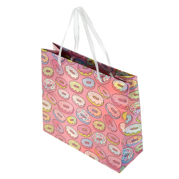 Claire's - medium donut gift bag - 2